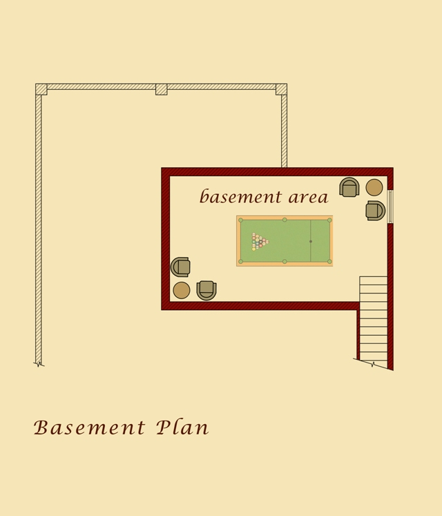 Kars Model Basement Plan