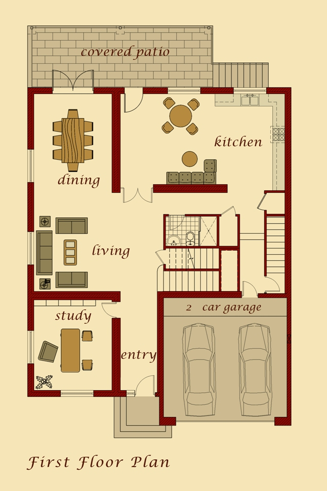 Kars Model First Floor Plan