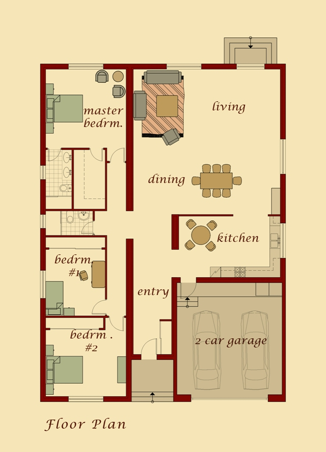 Kharbert Model Floor Plan
