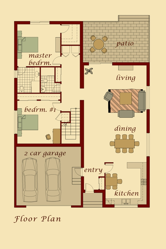 Shatakh Model Floor Plan