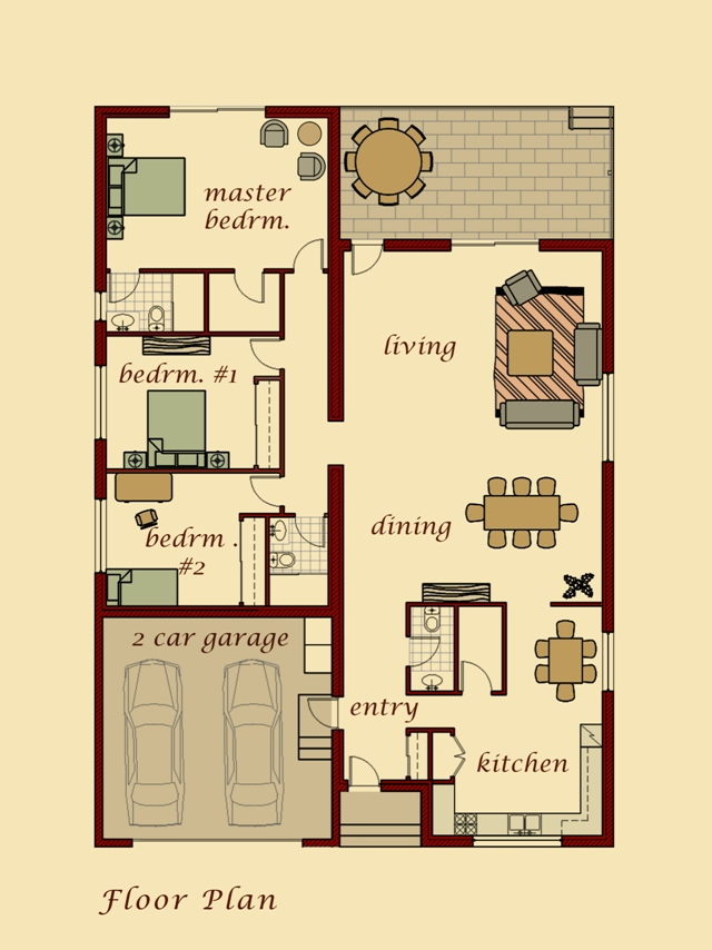 Taron Model Floor Plan